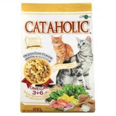 Сухой корм для кошек Cataholic Океанская рыба 500грамм