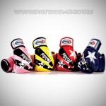 Боксерские перчатки «Fairtex BGV1»  STARS collection