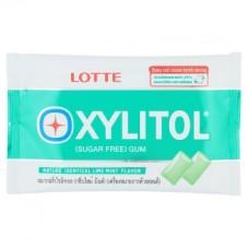Жевательная резинка Лимон и Мята без сахара Lotte Xylitol 11.6 грамм