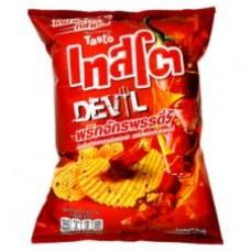 Картофельные чипсы Дьявольски Острые 70 грамм