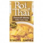 Готовый тайский суп Желтый карри на кокосовом молоке Roi Thai 250 мл