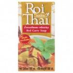 Готовый тайский суп Красный карри на кокосовом молоке Roi Thai 500 мл