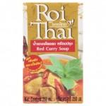 Готовый тайский суп Красный карри на кокосовом молоке Roi Thai 250 мл