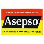 Антибактериальное оригинальное мыло Asepso 80 грамм
