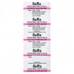 Парацетамол Sara 500 мг 10 таблеток