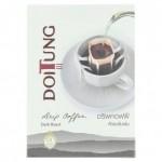 Doitung Сильно обжаренный молотый Кофе в индивидуальных пакетиках-фильтрах 10гр х 6 шт