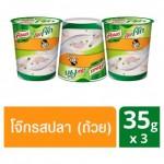 Рисовый суп Кхао Том быстрого приготовления с рыбой Knorr 3 стаканчика по 35 грамм