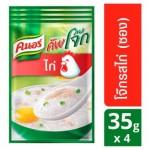 Традиционный тайский завтрак Кхао Том быстрого приготовления с курицей  Knorr 4 пакета по 35 грамм