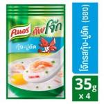 Традиционный тайский завтрак Кхао Том быстрого приготовления с креветками и крабами Knorr 4 пакета по 35 грамм
