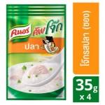 Тайский суп - каша Кхао Том быстрого приготовления с рыбой Knorr 4 пакета по 35 грамм