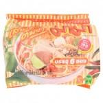Суп – лапша Том Ям с креветками быстрого приготовления брикет 55 грамм х 6 шт