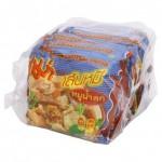 Суп – лапша Пряная Острая со свининой быстрого приготовления брикет 55 грамм х 6 шт