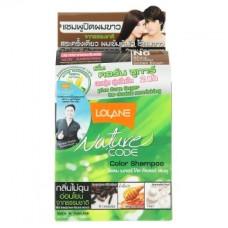Безаммиачный оттеночный шампунь для волос Lolane цвет Золотисто-Коричневый