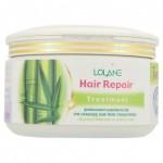 Маска для выпрямления  волос с кератином для поврежденных волос Lolane 200 грамм