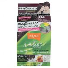 Безаммиачный оттеночный шампунь для волос Lolane цвет Махагон
