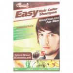Оттеночный шампунь для мужчин цвет натуральный шатен