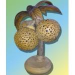 Светильник из кокоса Пальма