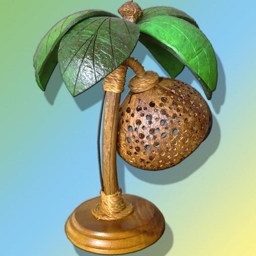 Светильник из кокоса своими руками