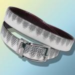 Ремень из кожи морской змеи